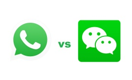 A-comparison-between-WeChat-and-WhatsApp-two-of-the-worlds-most-widely-used-instant-messaging-applications.