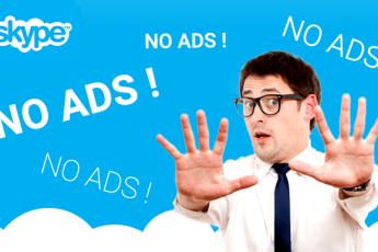 Skype без рекламы