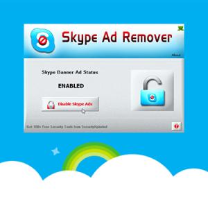 удалить рекламу в скайп