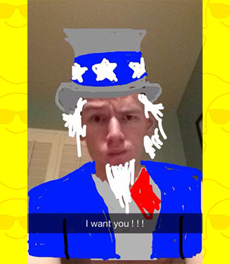Snapchat идёт в политику