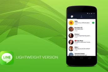 Новая облегченная версия Line для Android!
