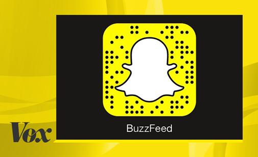 Buzzfeed и Vox станут партнерами Snapchat