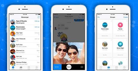 Facebook Messenger продолжает развиваться