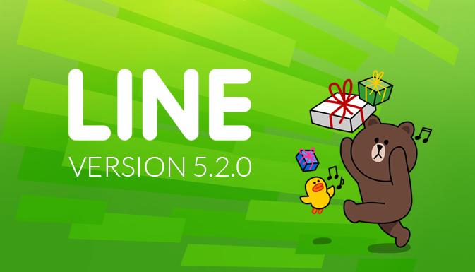 LINE версия 5.2.0 — найди свой стикер!