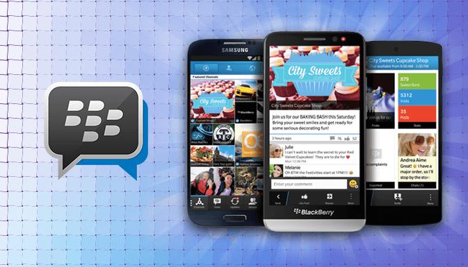 BlackBerry Messenger вводит новые функции