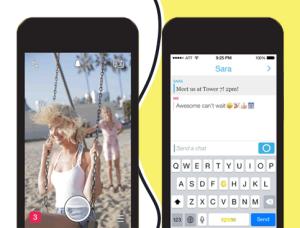 Теперь для просмотра контента в Snapchat надо просто кликнуть по нему один раз.