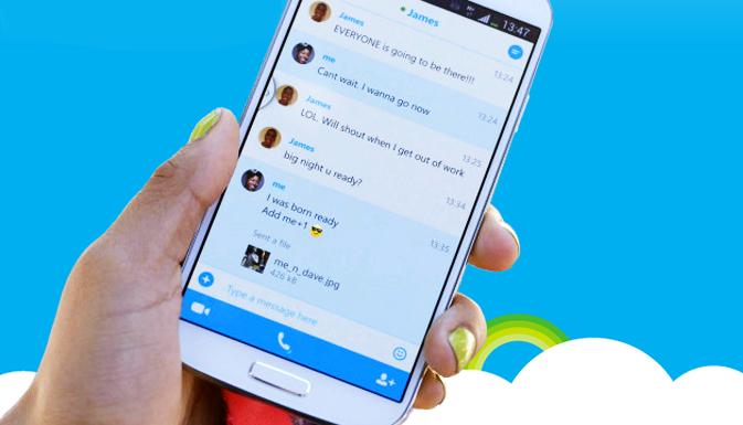 Skype обновился до версии 5.6 для Android