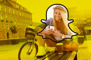 Snapchat сделал ударение на Discover