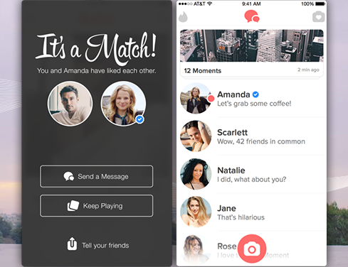 Аккаунты знаменитостей в Tinder
