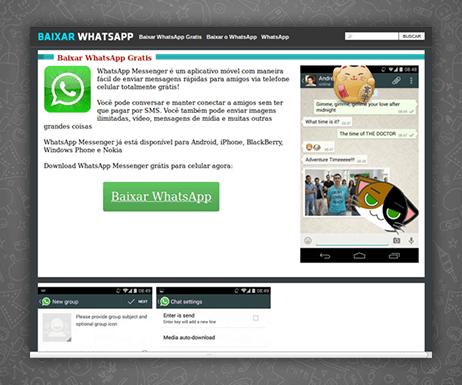 Под видом WhatsApp распространяется вирус