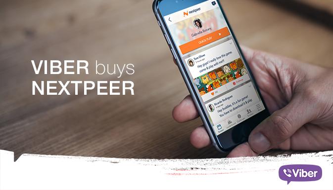 Viber купил Nextpeer