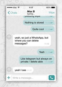 Wiper текстовые сообщения
