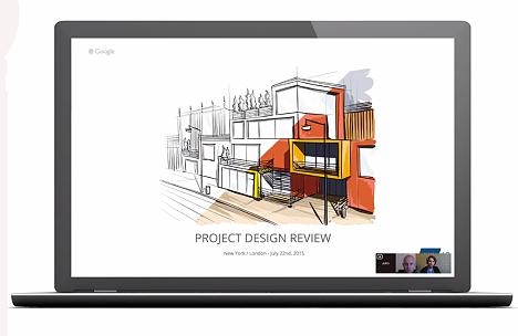 Как добавить презентацию в Google Hangouts?