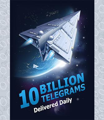 Telegram ставит рекорды