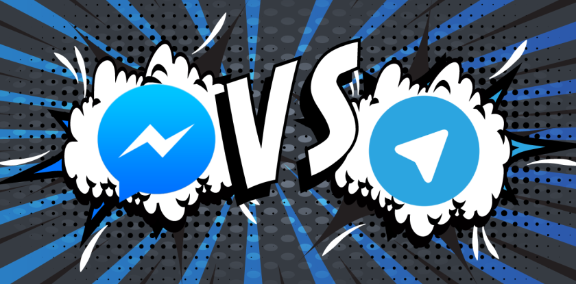 Telegram vs Facebook Messenger