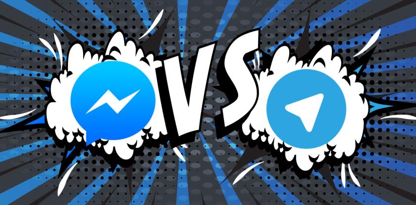 Telegram vs Facebook Messenger