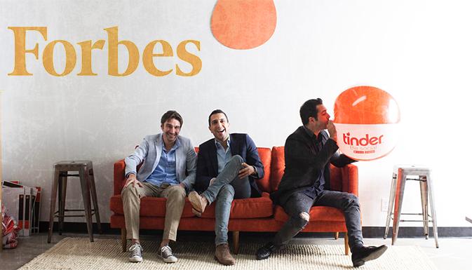 Tinder сделает приложение для Forbes