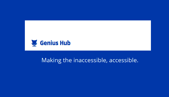 Встречайте Genius Hub!