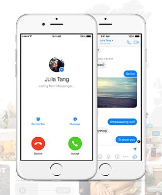 Facebook Messenger стал вторым по популярности сервисом в США