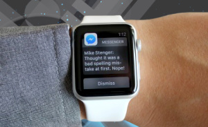 Facebook Messenger — теперь в Apple Watch