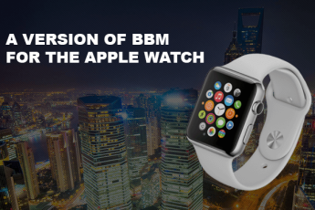 BlackBerry выпустили BBM для Apple Watch