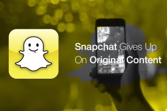 Snapchat отказался от своего контента