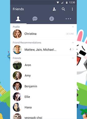 Обновление LINE позволит пользователям Android добавлять друзей без помощи телефонной книги