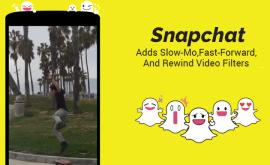 Snapchat: регулируй скорость с новыми видеоэффектами!