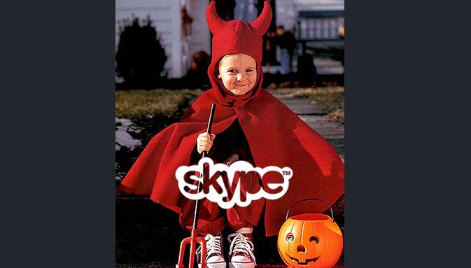 Skype продолжает финальную подготовку к Хэллоуину