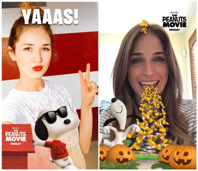 Оказаться в мультфильме: в Snapchat доступны новые фильтры для селфи!