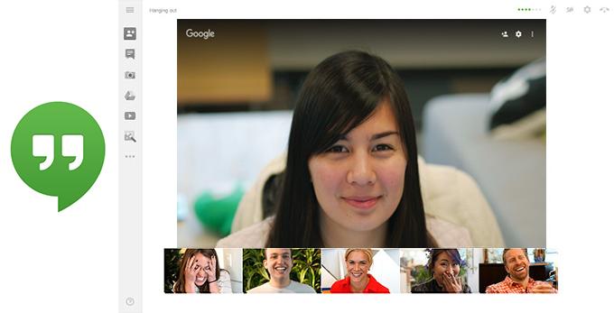 Google обновил веб-интерфейс Hangouts