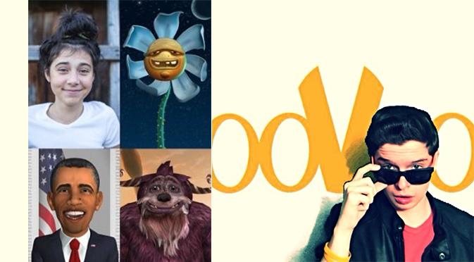 Попробуй себя в роли анимированного героя вместе с ooVoo