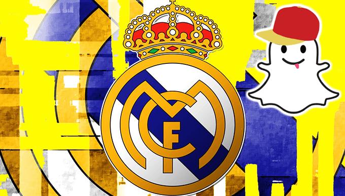 ВСТРЕЧАЙ REAL MADRID В SNAPCHAT