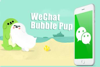 Веселые щенки Bubble Pup возвращаются в WeChat