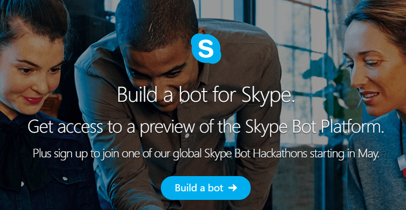 Skype получил ботов