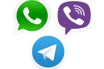 WhatsApp Telegram Viber