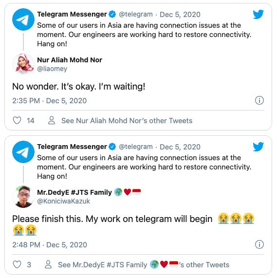Telegram Азия