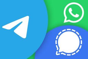 Telegram WhatsApp Signal